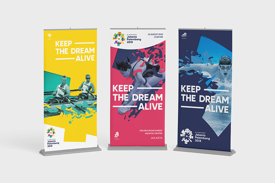 Asian Games 2018 Banners