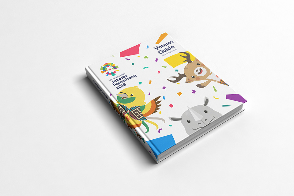 Asian Games 2018 Looks of the game, Venue guide book