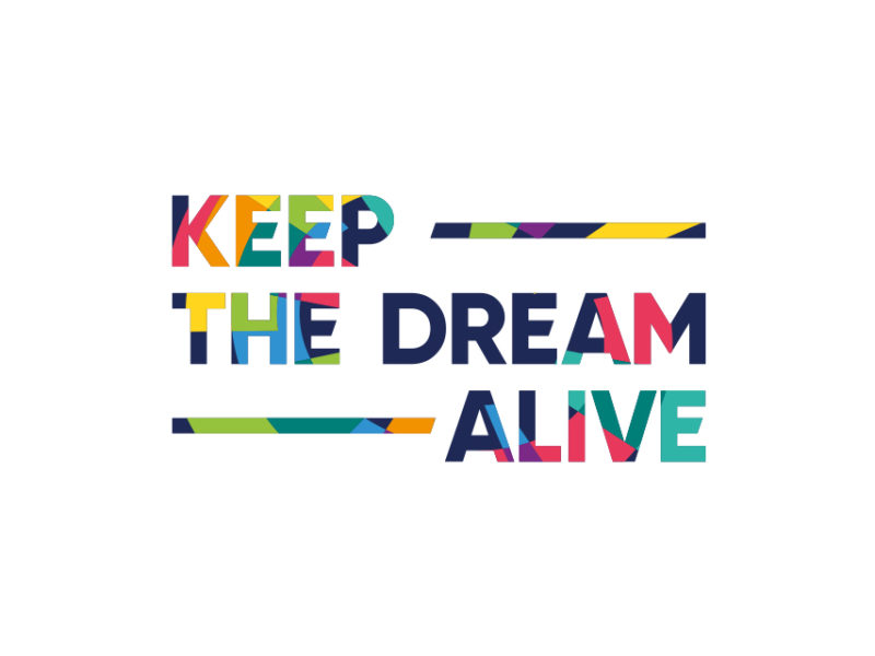 Asian Games 2018 KEEP THE DREAM ALIVE tagline